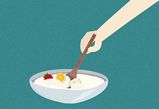 搅拌型酸奶
