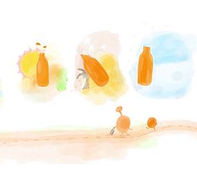 100%果汁等于鲜榨果汁吗?