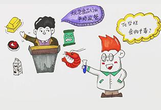 大福说:化学性食物中毒