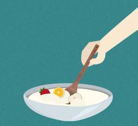 秒懂:搅拌型酸奶