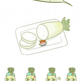 白萝卜、青萝卜 (2)