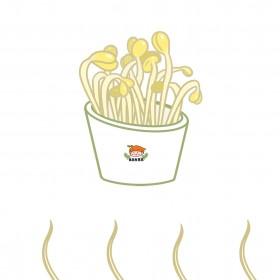 黄豆、黄豆芽、绿豆芽 (3)