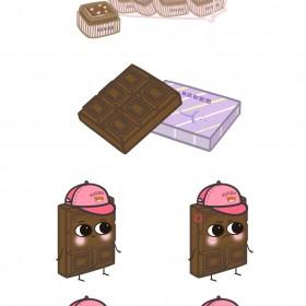 巧克力、太妃糖、奶糖 (3)