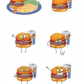 汉堡、披萨、三明治 (3)