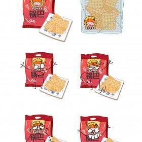 锅巴、薯片、虾片、虾条 (4)