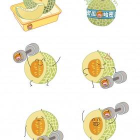 西瓜、哈密瓜、黄金瓜、甜瓜 (4)
