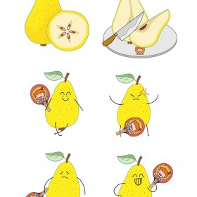 蛇果、苹果、梨、山楂 水果 (4)