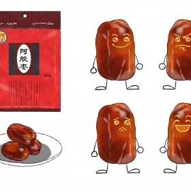 阿胶枣、猕猴桃干、地瓜干 (3)