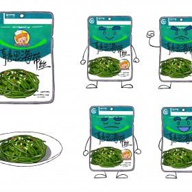 榨菜、海带丝、腌韭菜花 (3)