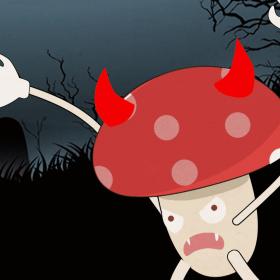 毒蘑菇野蘑菇 食物中毒 (5)