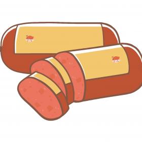 肉制品 火腿 午餐肉 香肠  食物 (3)