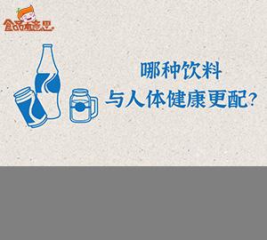 科普视频:哪种饮料与人体健康更配?