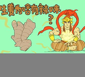 生姜为啥有辣味?